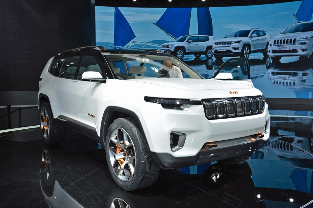2020 Jeep Yuntu Spy Shots