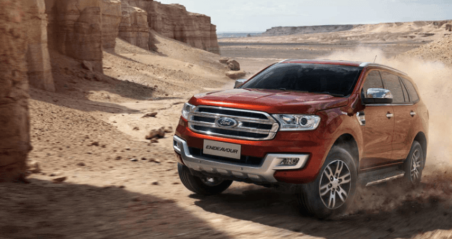 2020 Ford Endeavour Redesign, Interiors and Release Date