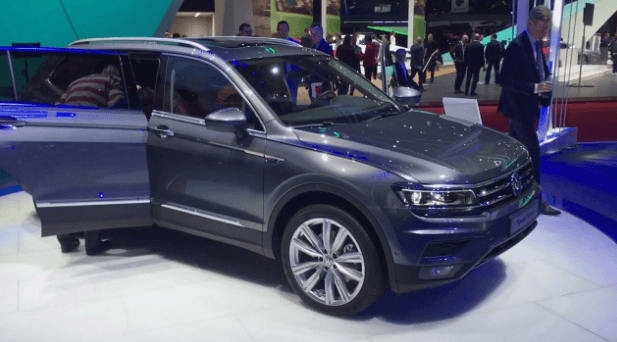 2020 VW Tiguan Allspace 7-Seat SUV Redesign and Release Date