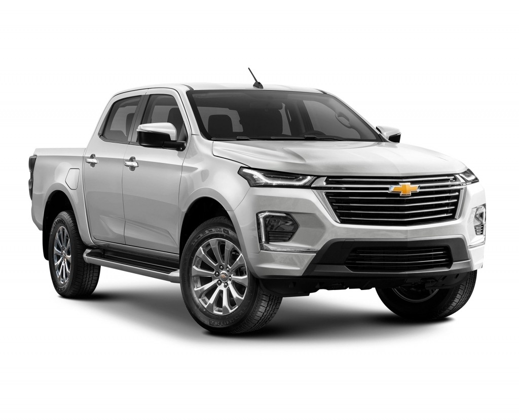 2023 Chevrolet Colorado Spy Photos
