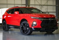 2021 Chevy Blazer K5 Spy Photos