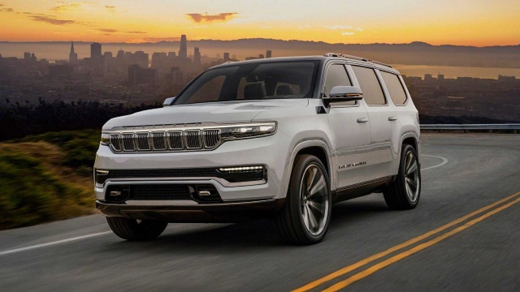 2022 Jeep Grand Wagoneer Redesign