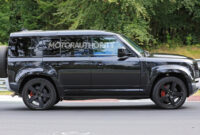 2022 Land Rover Defender Spy Photos