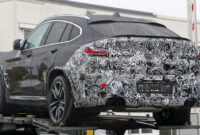 2022 BMW X4 Spy Shots